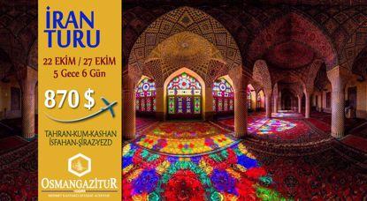 İran Turu ( 5 Gece 6 Gün)   870 $ resmi
